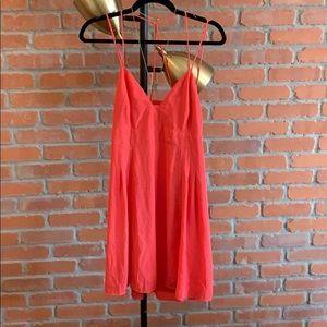 Dresses & Skirts - EXPRESS salmon skater dress